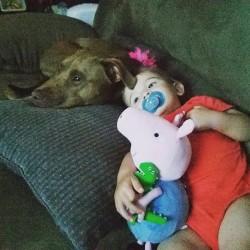 Brady and Dog